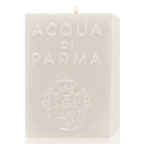 White Cube Candle